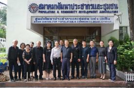 中国计生协代表团访问泰国