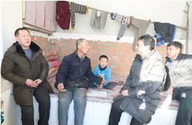 内蒙古计生协赴鄂伦春自治旗走访慰问贫困计划生育家庭