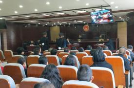 弥勒市开展反腐倡廉现场庭审警示教育