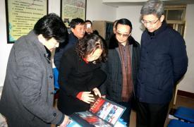 石家庄市在晋州市开展卫生计生宣传活动