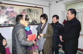 济南市副市长卢江走访慰问历下区计生困难家庭