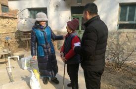济南市计生协党支部开展扶贫慰问活动