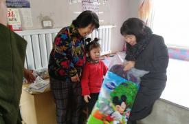 抚顺县走访计生特殊家庭及流动人口和留守儿童家庭