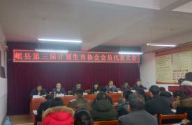 甘肃省岷县计生协圆满完成换届选举工作