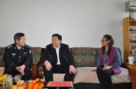 济南市和市协会领导走访慰问计生困难家庭