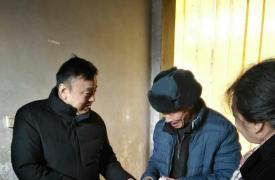 陕西省计生协组织春节前慰问计生失独贫困家庭