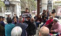 四清里社区威廉希尔登录协举办微宣讲引领居民幸福生活