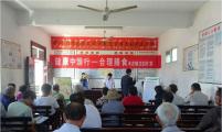 安徽寿县丰庄镇开展健康素养知识宣讲和健康义诊活动
