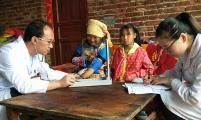 云南省弥勒市签约家庭医生服务到位