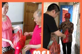 江苏省丹阳市司徒镇开展计生特殊家庭夏季走访慰问活动