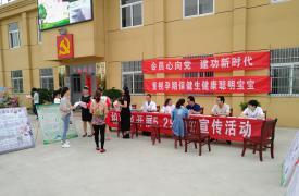 安徽省六安市舒城县柏林乡开展 5.29计生协会纪念日宣传活动