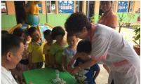 安徽寿县计生协开展关爱留守儿童活动