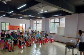 湖南省湘潭韶山市:早教知识讲座促优育理念传播