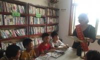"""安徽省太和县赵集乡:""""农家书屋""""成为留守儿童暑期乐园"""