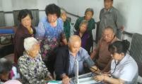 黑龙江省宝清县八五二农场第五管理区免费体检关爱老人