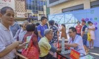 福建省闽清县举行2018年全民健康生活方式行动日宣传活动