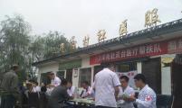 天津医疗帮扶队在甘肃省灵台县红崖沟村开展健康扶贫活动
