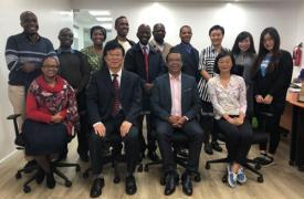 中国计生协秘书长王景水赴肯尼亚洽谈中非民生合作项目