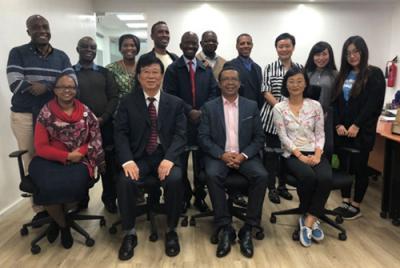 中国威廉希尔登录协秘书长王景水赴肯尼亚洽谈中非民生合作项目