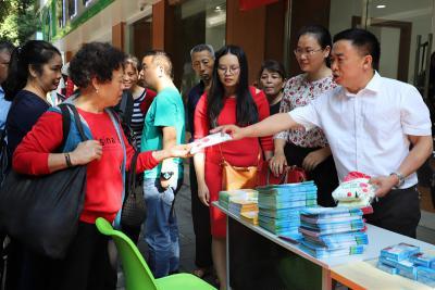 """贵州黔西南州、兴义市威廉希尔登录协联合开展""""营养进社区·健康进万家""""宣传服务活动"""