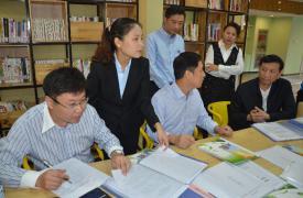 山东省计生协评估组对济南市优生优育指导工作进行评估调研