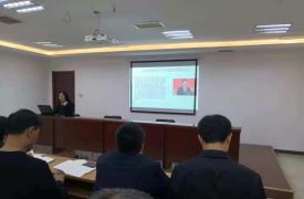 河北省石家庄市裕华区裕兴街道计生协组织学习宪法培训活动