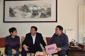 山东省济南市委副书记苏树伟春节之际走访慰问困难计生家庭