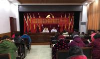 安徽省太和县城关镇桥西社区举办育龄妇女健康知识培训