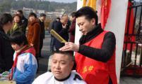 湖南湘潭韶山市银田镇:学雷锋,会员在行动