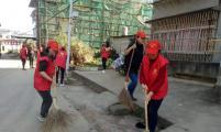 峡阳镇威廉希尔登录协开展改善城乡人居环境志愿服务活动