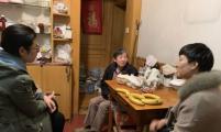 送慰问,送暖心,茅廊巷社区威廉希尔登录协慰问失独家庭