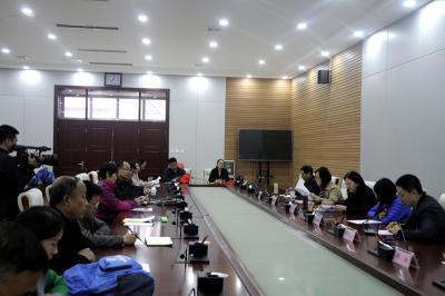 中国威廉希尔登录协项目课题组赴石家庄市行唐县调研