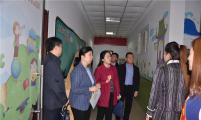 河北省、石家庄市计生协调研长安区第四幼儿园优生优育项目建设工作