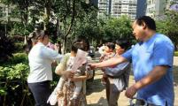 云南省昆明市盘龙区盘江社区计生协开展感恩母亲节活动