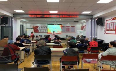 湖北省武汉市江岸区新村街威廉希尔登录协开展家庭急救讲座和家庭医生签约活动
