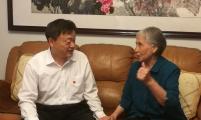 山东省济南市威廉希尔登录协庆祝建党98周年,慰问离休老党员