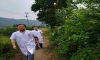 陕西省宝鸡市渭滨区专家入户随访贫困大病患者