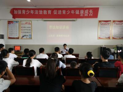 江苏省扬中市西来桥镇北胜村计生协开展普法知识讲座