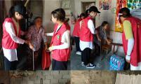 灾后重建,胡乐镇威廉希尔登录协志愿者不缺席!
