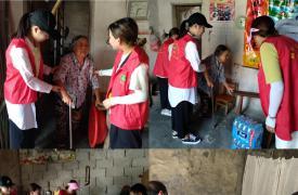 灾后重建,胡乐镇计生协志愿者不缺席!