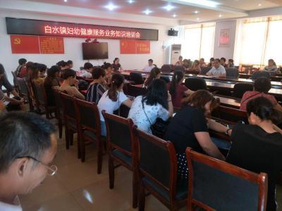 湖南省永州市祁阳县开展妇幼健康服务知识下基层巡讲活动