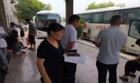 山东省临沂市梅家埠街道卫计办开展无偿献血公益活动