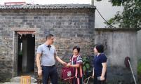 江苏省句容市茅山镇开展中秋走访慰问威廉希尔登录特殊家庭活动