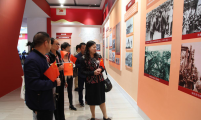 云南省昆明市计生协组织机关干部参观省庆祝中华人民共和国成立70周年成就展