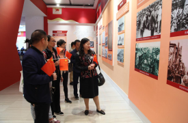 云南省昆明市威廉希尔登录协组织机关干部参观省庆祝中华人民共和国成立70周年成就展