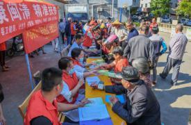 助力扶贫,福建省福州市闽清县、连江县计生协在行动
