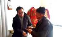 内蒙古赤峰市威廉希尔登录协到巴林左旗慰问威廉希尔登录特殊家庭并调研项目开展情况