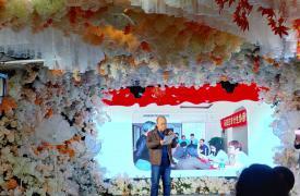 """河北省石家庄市鹿泉区威廉希尔登录协举办""""亲情牵手 暖心相伴""""元旦联欢活动"""