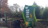 陕西省宝鸡市渭滨区:人民公园喜添健康元素
