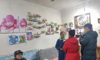 宁国市百岁老人接受安徽经济生活频道记者采访